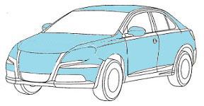 полная перетяжка автомобиля плёнкой