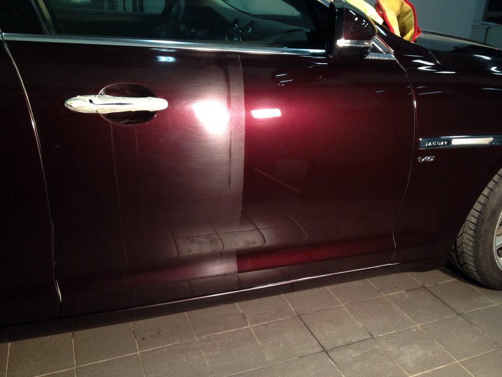 удаление царапин с лака авто