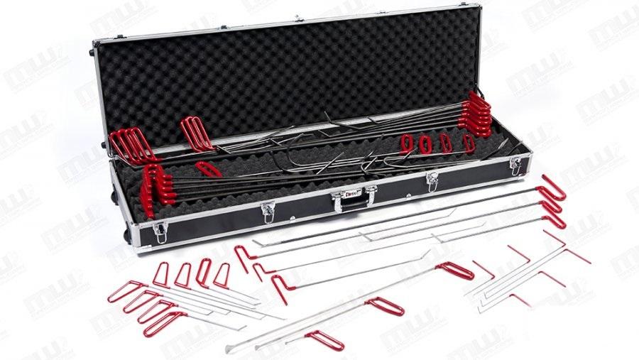 Инструменты для удаления вмятин без покраски кузова автомобиля